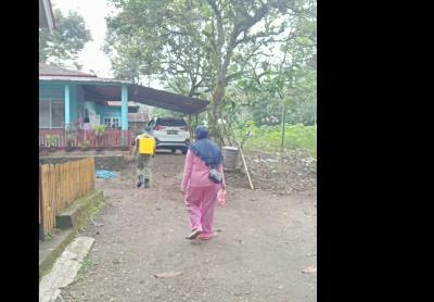 Penyemprotan Disinfektan di setiap Jorong Nagari Situjuh Batua