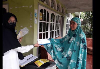 Penyerahan Bantuan Langsung Tunai (BLT) Dari Dana Desa di Tingkat Jorong Kenagarian Situjuh Batua