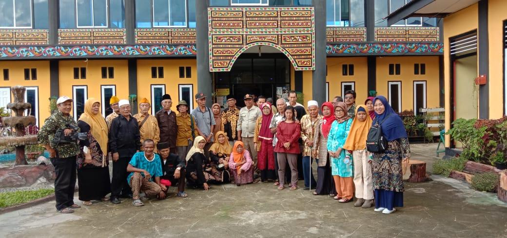 kunjungan dari veteran kota solok dan kabupaten solok