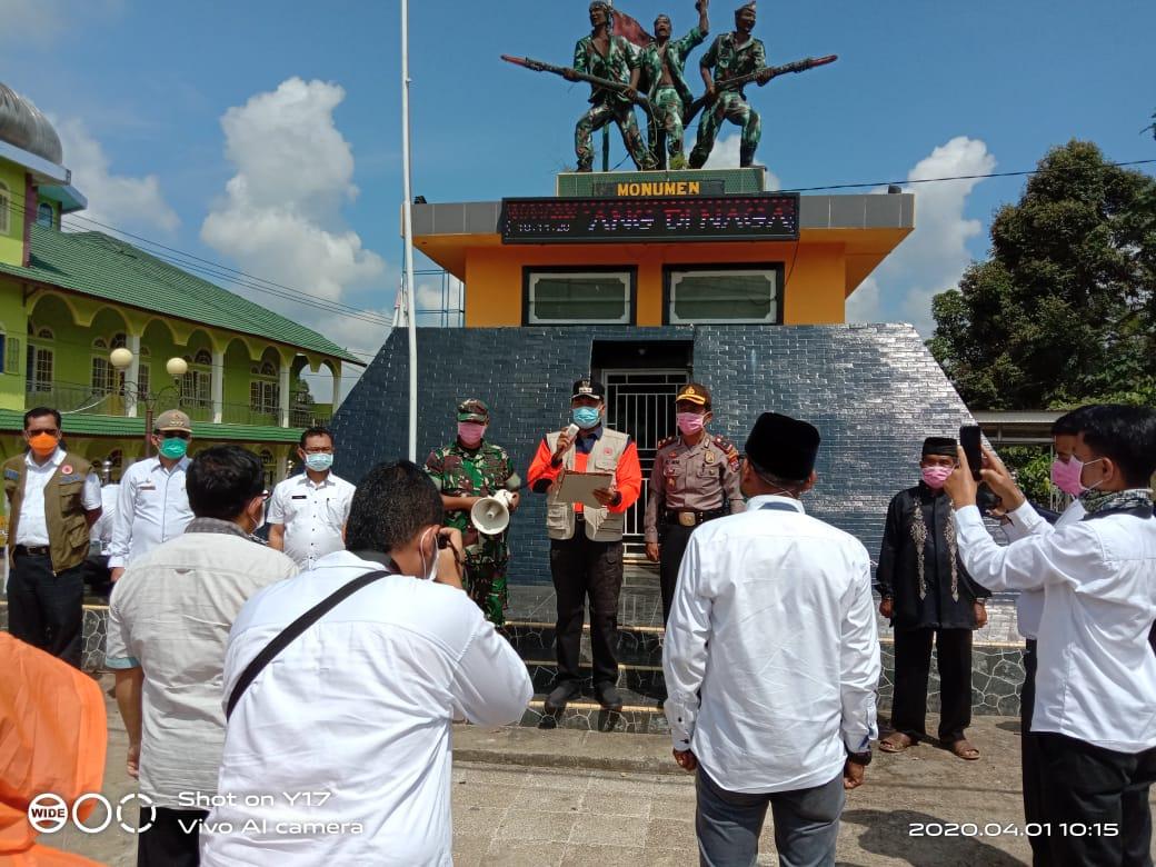 Pelantikan tim relawan covid-19