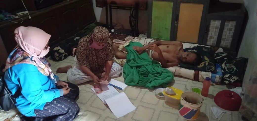 Penyerahan Kelanjutan Bantuan BLT Dana Desa Tahap 4 Nagari SItujuh Batua