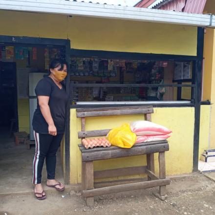 Album : Penyerahan Bantuan Sembako u/ masy terkena Covid