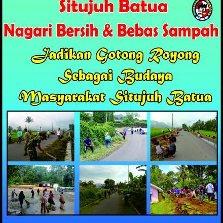 Album : Baliho Kegiatan Goro Nagari Situjuh Batua