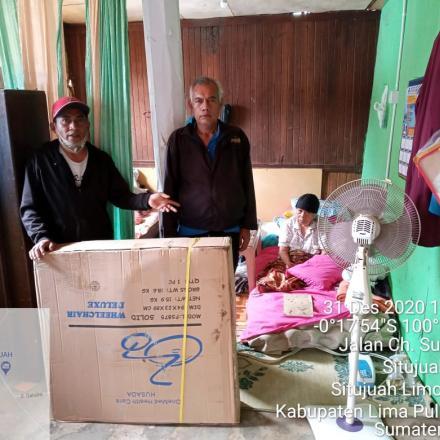Album : Penyerahan Bantuan Kursi Roda Dari Dinas Sosial