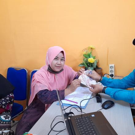 Album : Penyerahan Honor Guru Paud Istiqomah